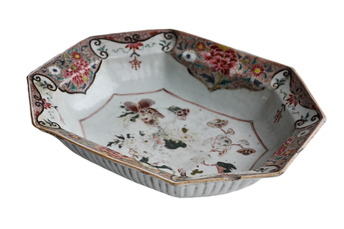 China - Porcelain dish - XVIIIth
