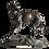 Thumbnail: Alfred Louis BARYE (1839-1882) - Sculpture en bronze - Cachet de fondeur
