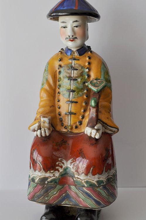 Chine - sculpture en céramique fin XIXème début XXème