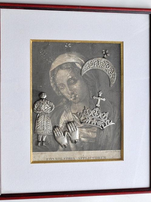 Ex voto - Engraving and silver - circa 1800