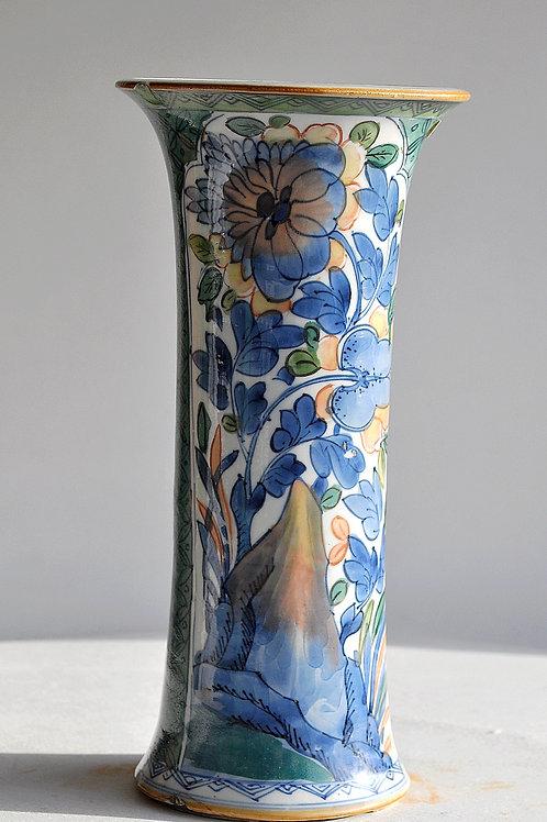 China - Polychrome porcelain vase - 18th century