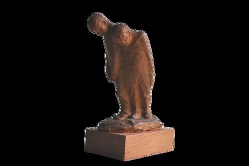 Vandersmissen F - Sculpture en terre cuite signée - XXème