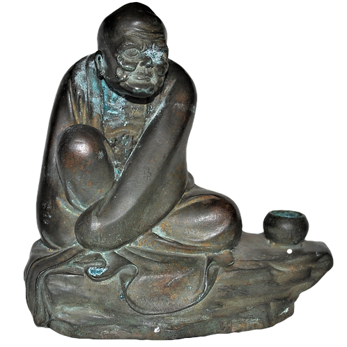 Chine - Bouddha bronze - XVIII - XIX ème