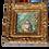 """Thumbnail: Grande Miniature sur ivoire """"Les lettres d'Amour"""" - XXème"""