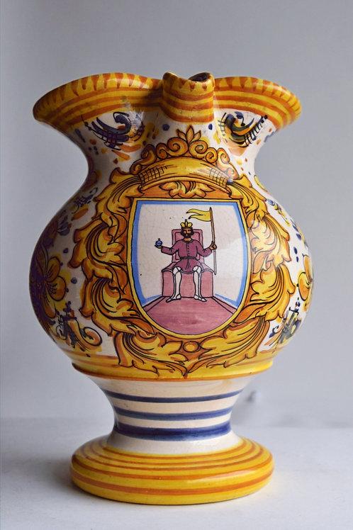 Vase - Pichet - Céramique craquelée - XXème