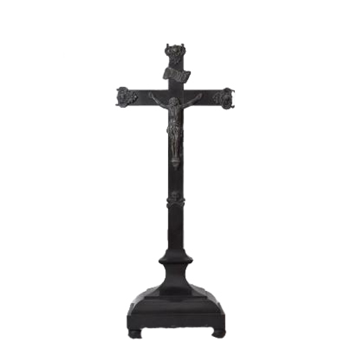 Crucifix - Christ On The Cross In Silver -