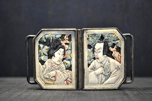 Japon - Boucle de ceinture en ivoire - CA 1920-1930