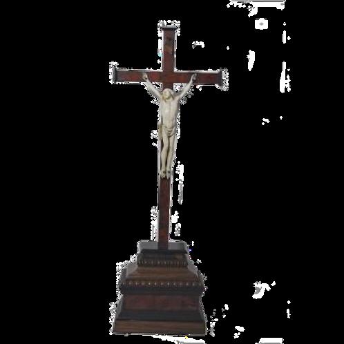 Crucifix - Christ En Ivoire - Dieppe -