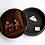 Thumbnail: Boite ronde peinte - XIXème siècle