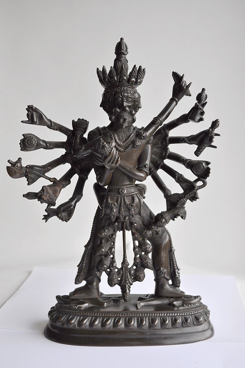 Kali - Inde - Sculpture En Bronze - Inde - XXème