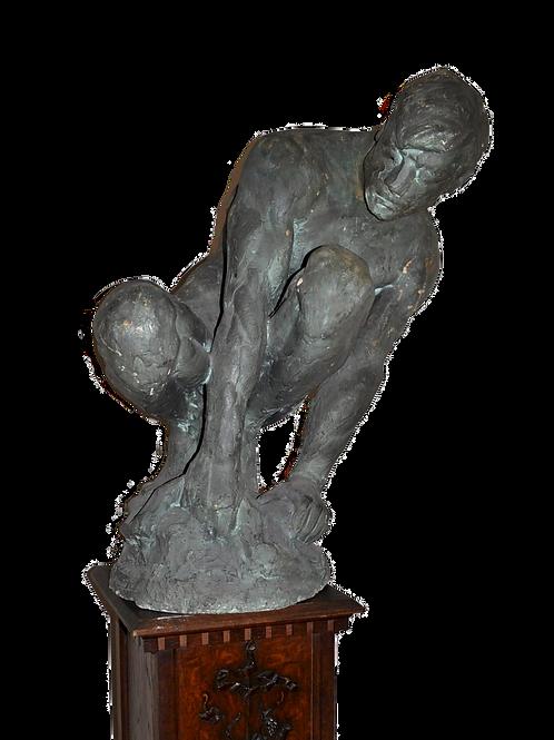 Ernesto DE FIORI - Plâtre d'Atelier 20ème