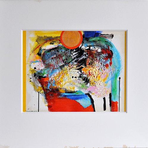 Robert John KAUPELIS - Sans titre, 1989 -Technique Mixte