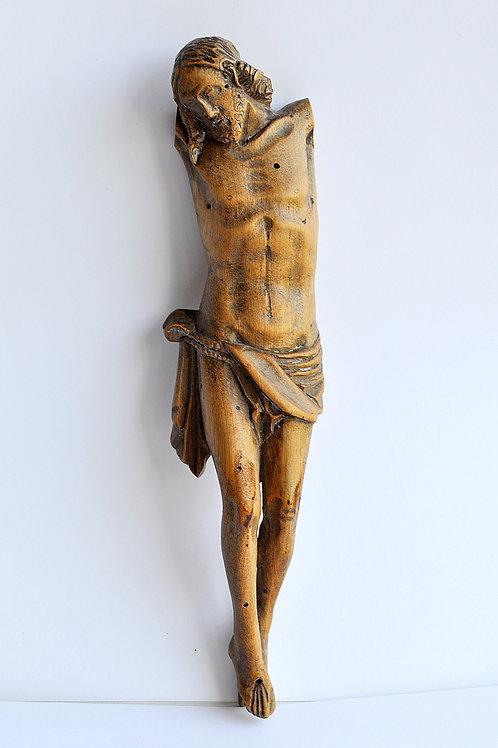 Christ en buis sculpté - XIXème