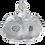 Thumbnail: René Lalique - Flacon parfum 2 fleurs - France - XXème