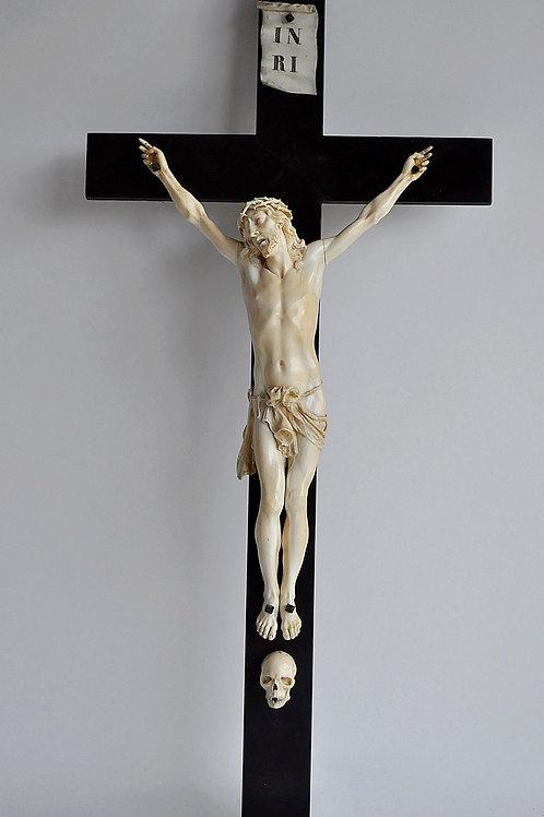 Crucifix - Christ En Ivoire - France - XVIIIème