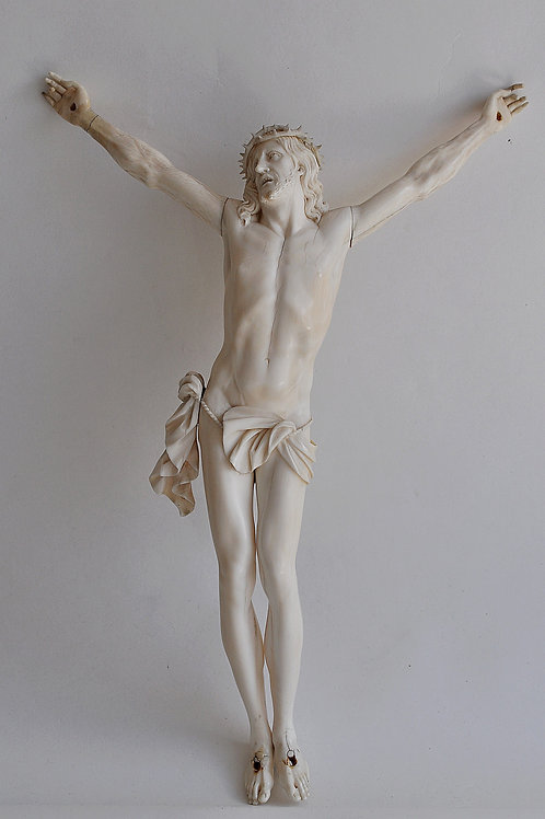 Christ En Ivoire Sculpté - France - Circa 1800