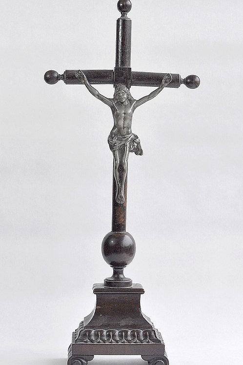 Crucifix sur socle bois - Pays Bas - Début XIXème siècle