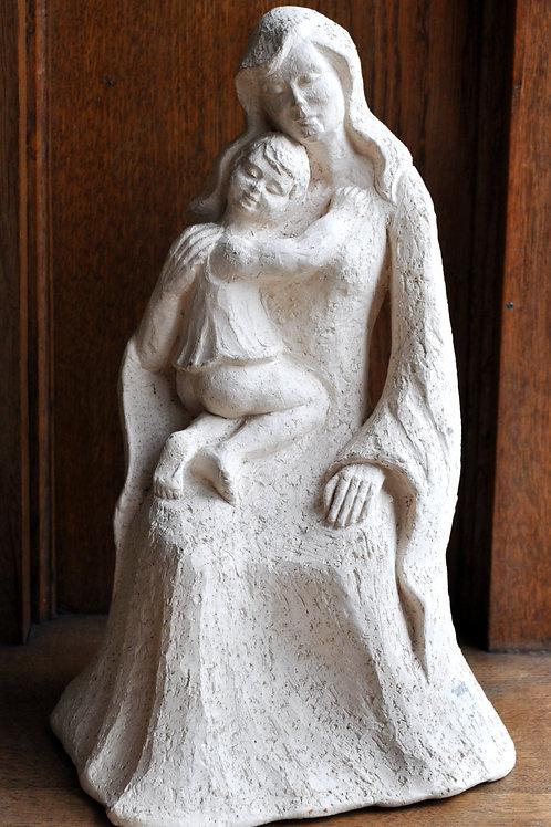 Sculpture - Terre cuite - Signée KUNEN G.