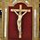 Thumbnail: Crucifix - Grand Christ en ivoire - 17ème -