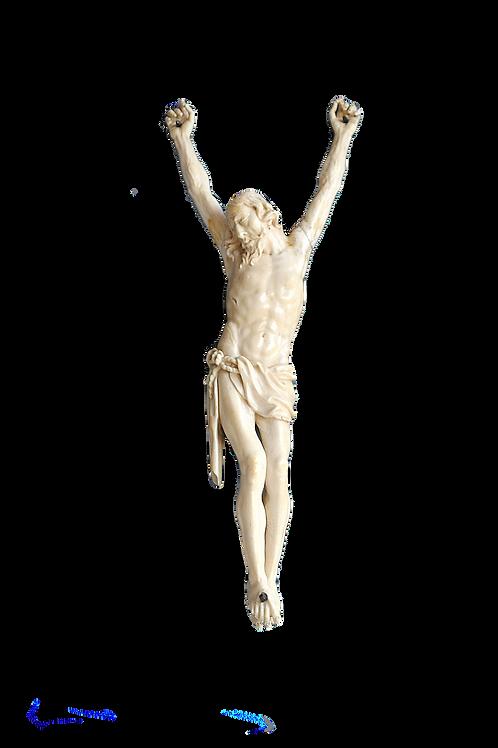 Grand Christ en Ivoire - 17ème - France -