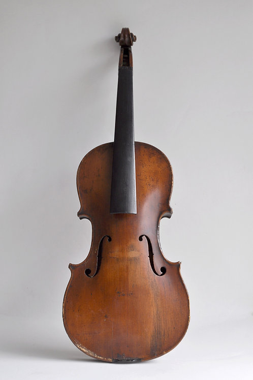 French violin 3/4 without label - 19th