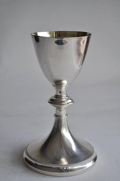 Calice En Argent - Minerve Et Métal Argenté - Demarquet Frères 1889-1925