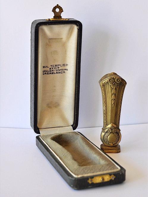 OG. Lelièvre - sceau - Cachet en Bronze doré - Signé