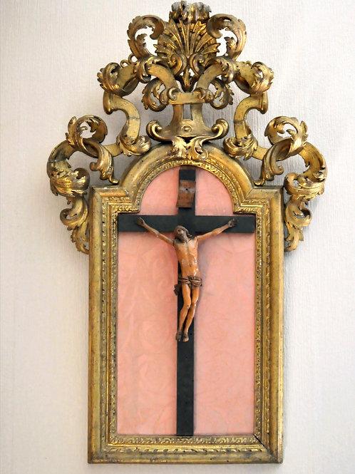 Crucifix - Christ En Buis - France 18ème - Bois - buis