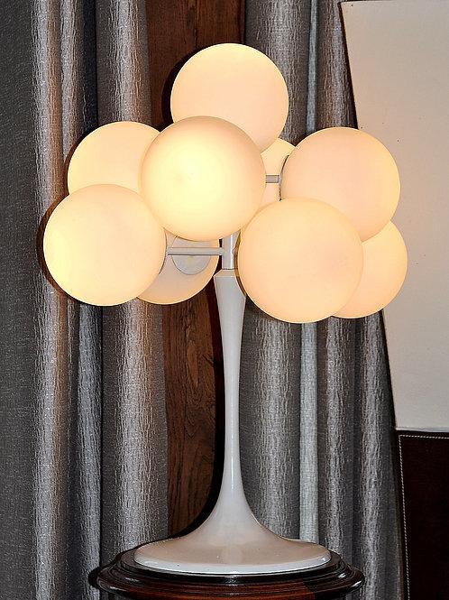 Lampe Vintage à 9 Globes - E.r. Nele Pour Tembe