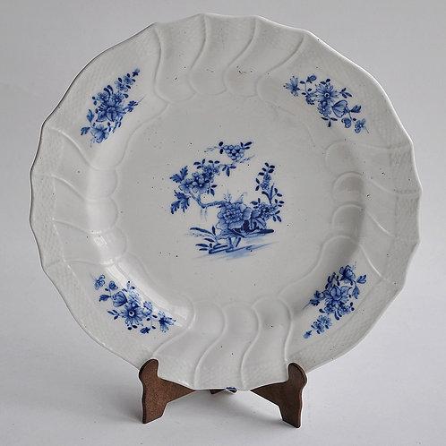 Tournai - 18th century soft porcelain plate