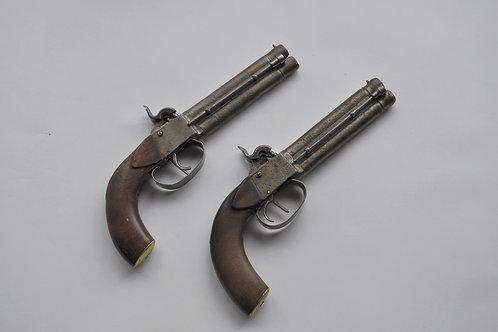 Paire De Pistolets De Duel - XIXème