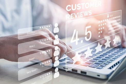 Customer review satisfaction feedback su
