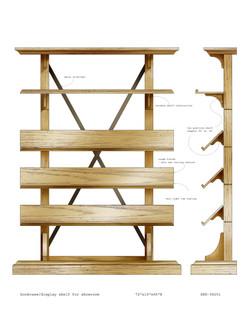 bookcase/display shelf