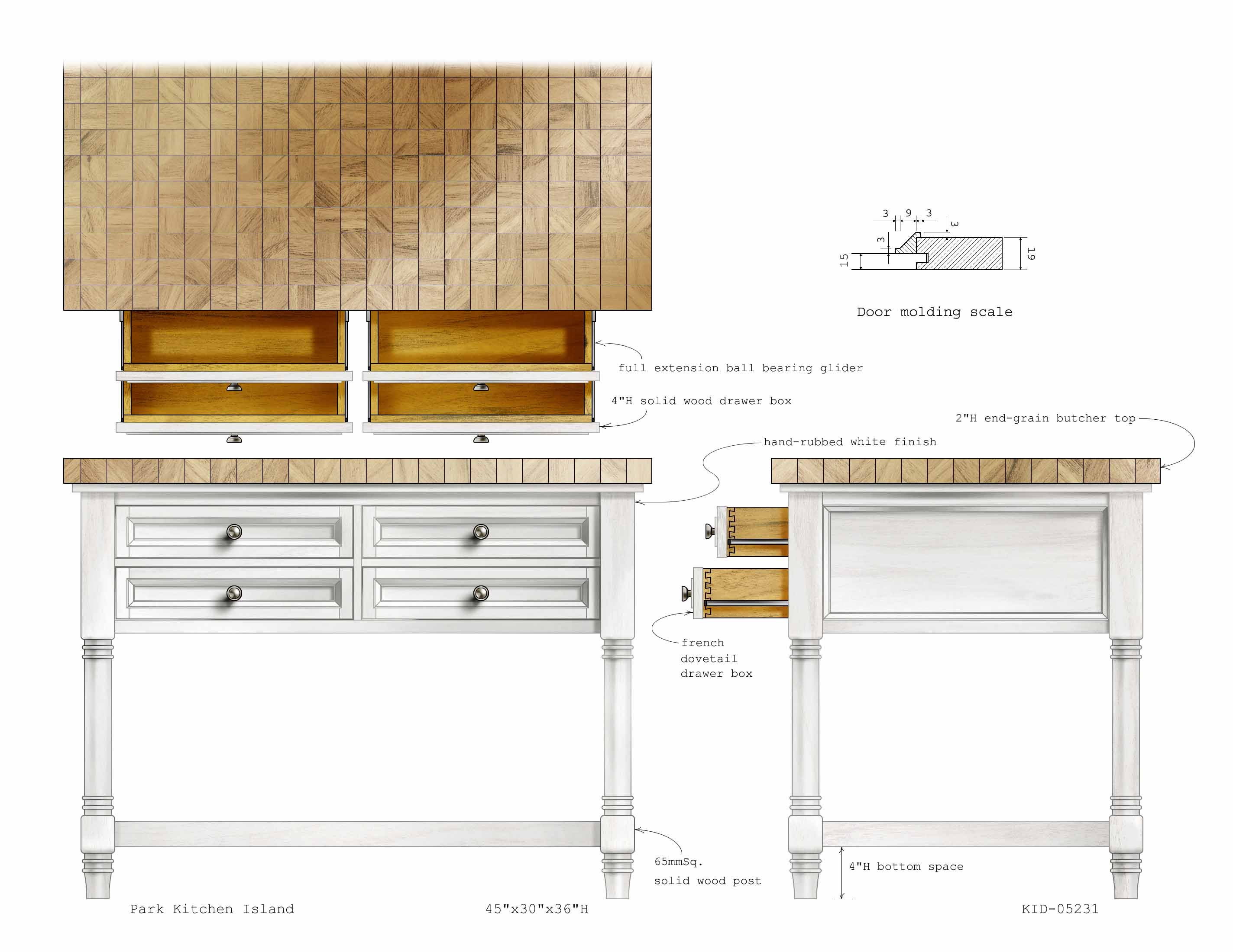Park Kitchen Island
