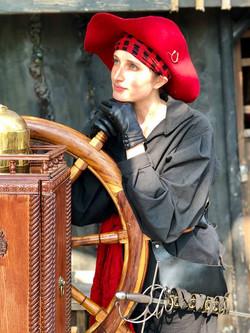 Elizabeth in the Nebraska Pirate Festival