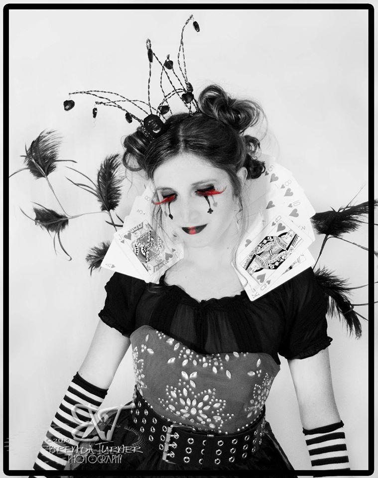 Queen of Hearts shoot