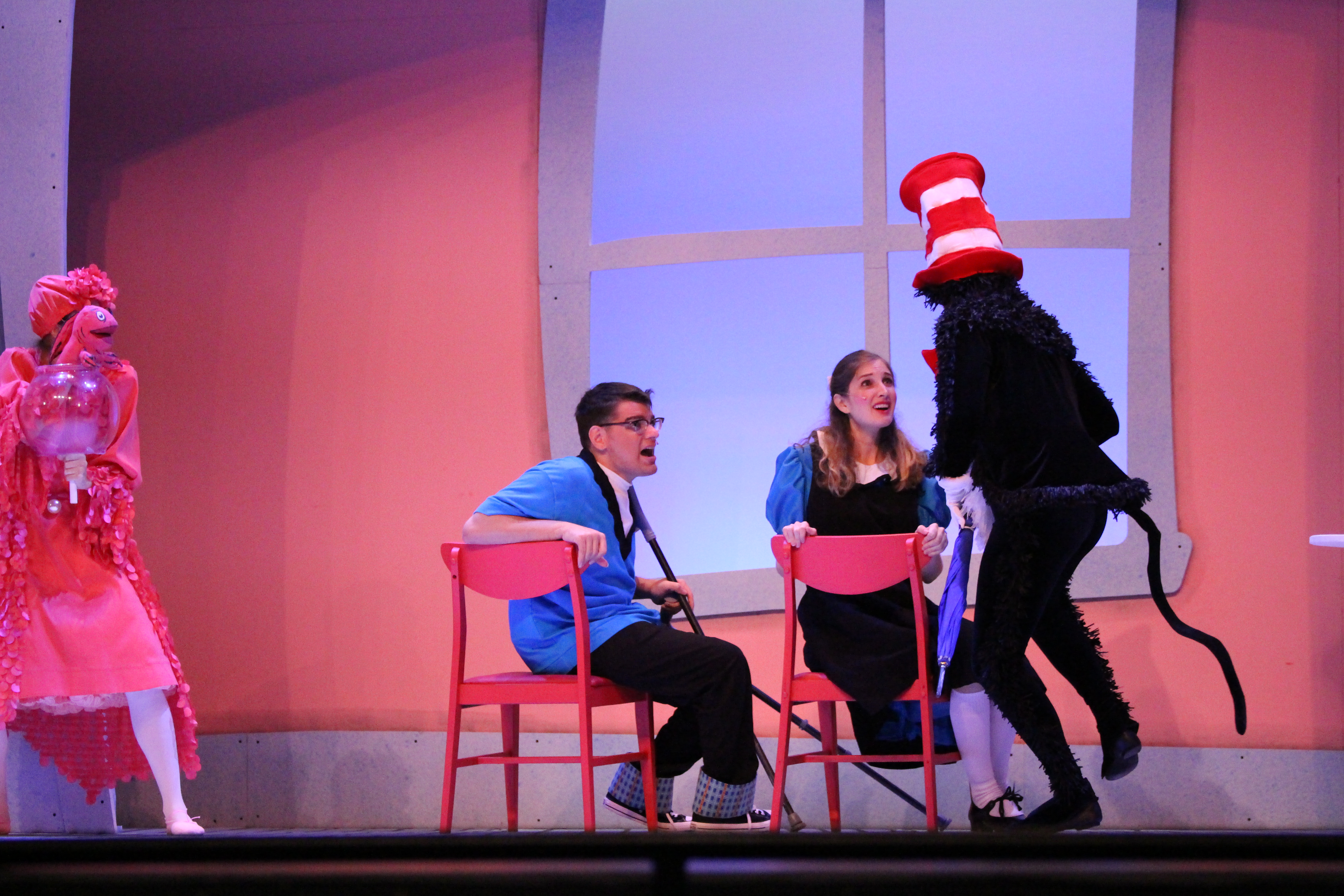Sally in The Cat in the Hat