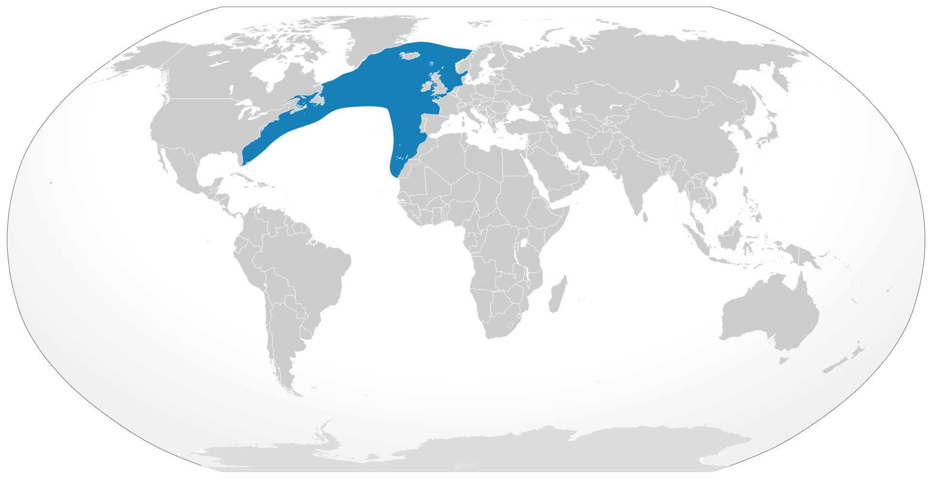 Distrubution map