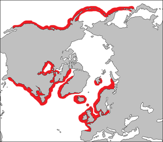 Map of distrubution