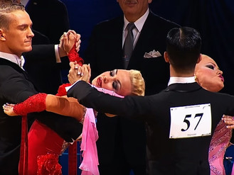 The Epic 'Standing' Tango At 2014 Euro Standard