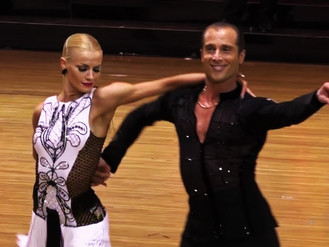 Fantastic Professional Latin Grand Final From Blackpool Dance Festival (China)