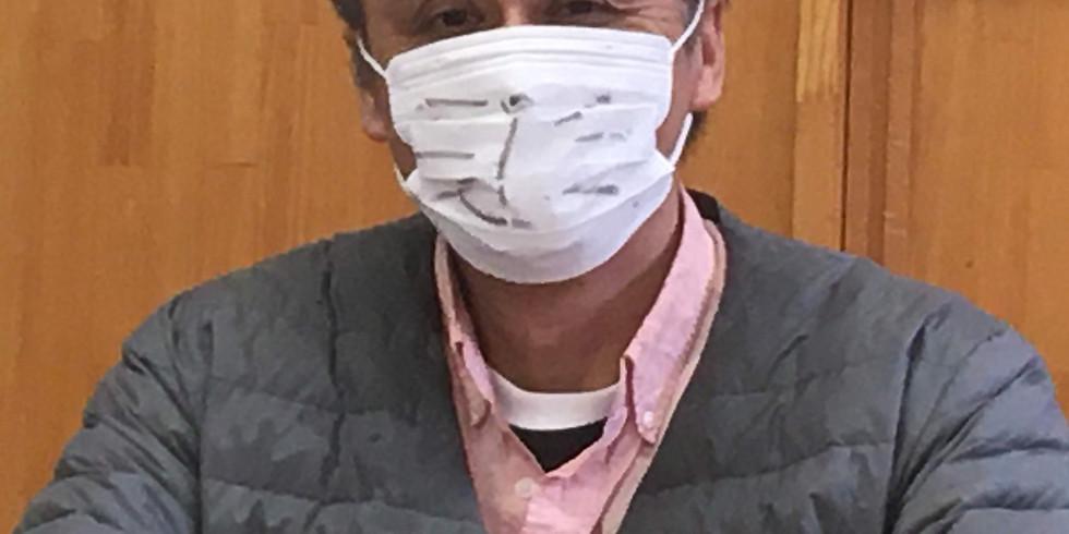秋葉工務店「Zoom 仮装・アートマスク コンテスト」