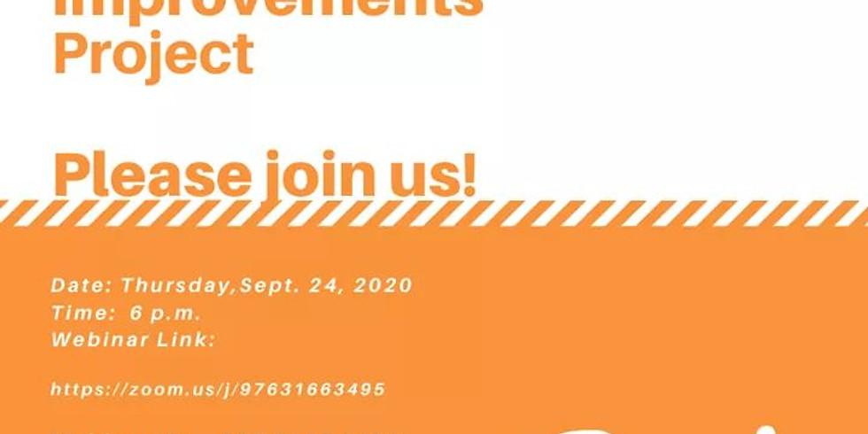 Anderson Improvement Project Virtual Workshop