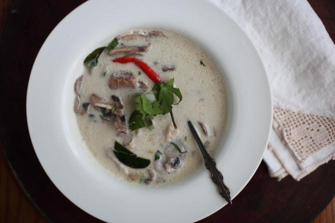 Tom Kha Kai-Coconut Soup
