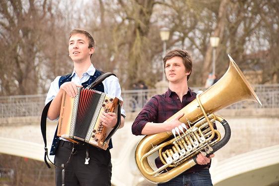 Almrasch duo: Volkmusik