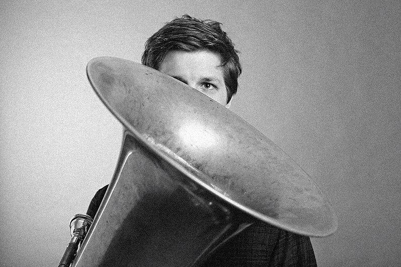 Florian Mayrhofer und Tuba