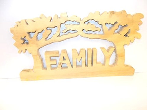 Family Decorative Woodcraft