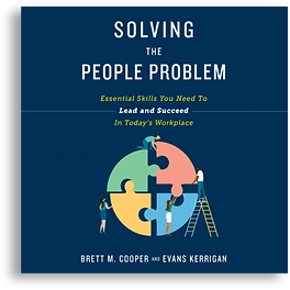 Cover Solving the people problem audiobo