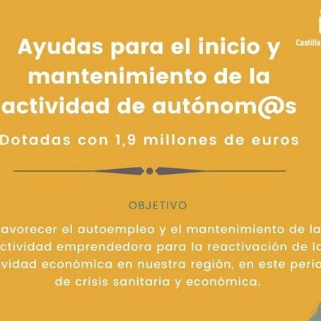 AYUDAS COVID-19: AUTÓNOMOS Y FAMILIARES COLABORADORES POR LA JCCM - CLM