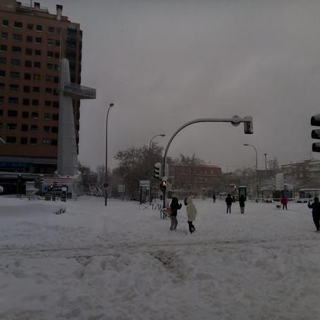 """¿Quién cubre los daños tras el temporal de nieve """"Filomena""""?"""
